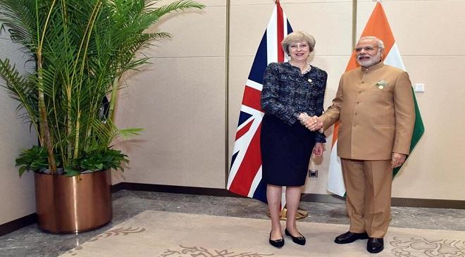 Britain and India condemn terror