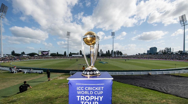 ICC Cricket world cup trophey