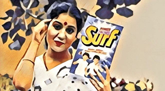 Surf ad and Lalita ji - the greatest brand story told